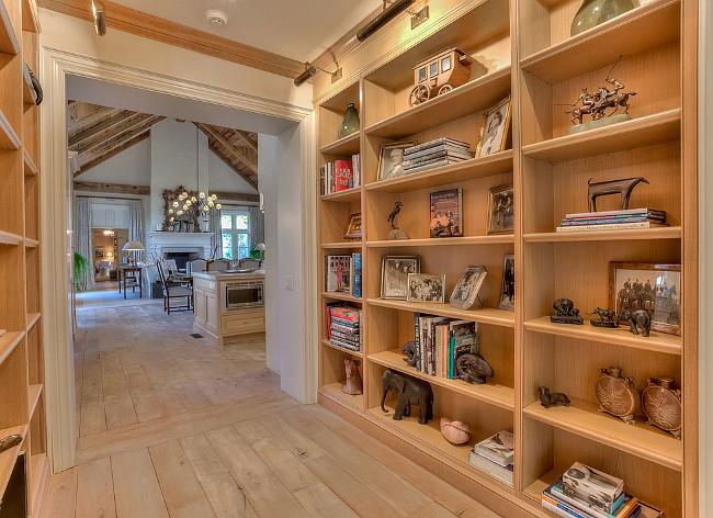Hallway Bookcase. Hallway Bookcase Ideas. Hallway Bookcase Design. Hallway Bookcase on both walls in hallway. #Hallway #Bookcase Sotheby's Canada.