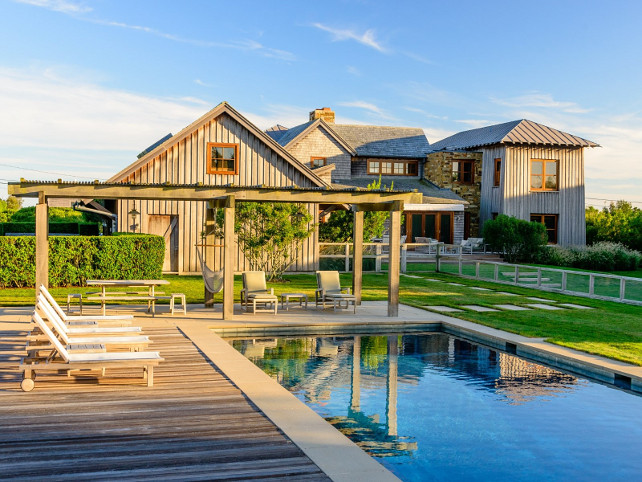 Hamptosn Beach House #HamptonsBeachHouse