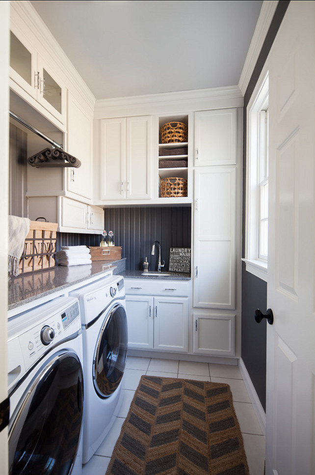 Laundry Room Design. Small Laundry Room Design. #LaundryRoom