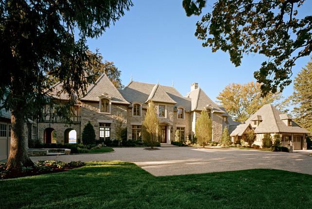 Home Exterior Design. Home Exterior. French Home Exterior. #HomeExterior #FrenchHomeExterior Significant Homes LLC