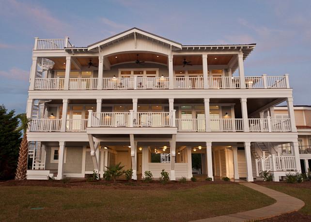 Home Exterior Ideas. Back of House Exterior Ideas. Back of house Exterior Design #BackHouseExterior