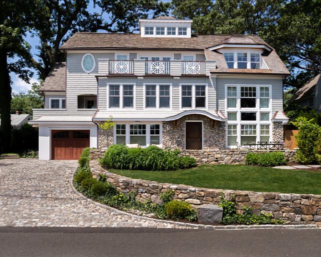 Home Exterior Ideas. Stone House Exterior Ideas. Home Exterior #HomeExterior #HomeExteriorIdeas #HomeExteriorDesignIdeas #StoneHouseExterior  Alisberg Parker Architects.