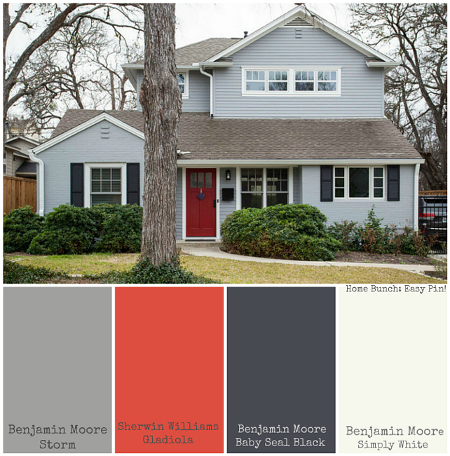 Home Exterior Paint Color Benjamin Moore Storm Sherwin Williams Gladiola Baby