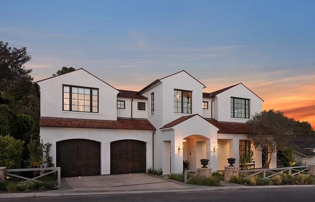 Home Exterior. Home Exterior Paint Color Ideas. Home Exterior Design Ideas. #HomeExterior #HomeExteriorIdeas Brandon Architects, Inc.