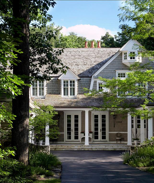 Home Exterior. Shingle Home Exterior Ideas. #HomeExteriorIdeas #ShingleExterior #Shingle   Michael Abraham Architecture
