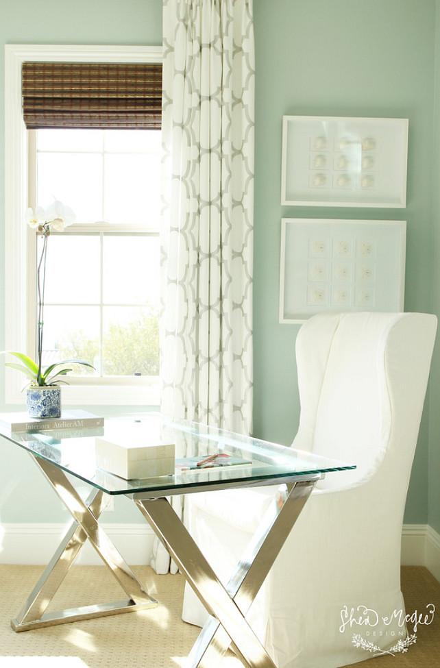 Home Office. Home Office Desk. Home Office Chair. Home Office Decor. Home Office Paint Color. #HomeOffice Bedroom Desk Studio McGee.