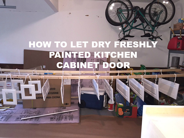 how to paint kitchen cabinet doors before amp after kitchen reno with painted cabinets home 17190