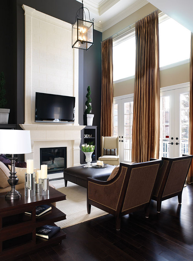 Black & White Interiors. Classic Black & White Interiors. #Interiors #Black&White