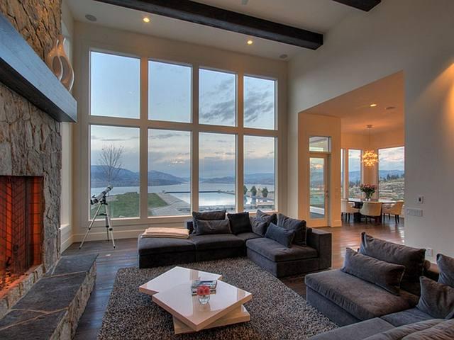 Okanagan Lakeview Home Home Bunch Interior Design Ideas