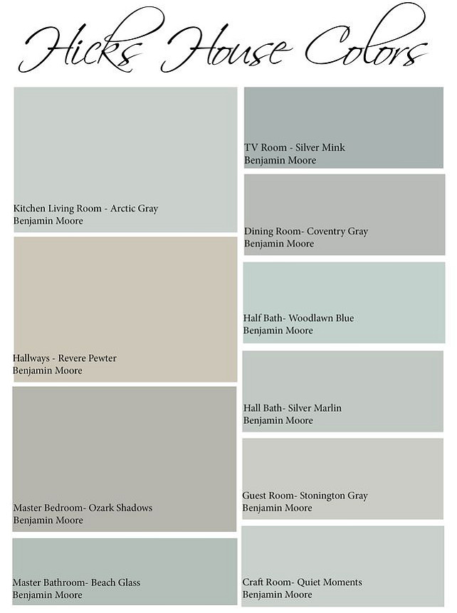 Interior Color Palette Ideas For The Entire House Easy