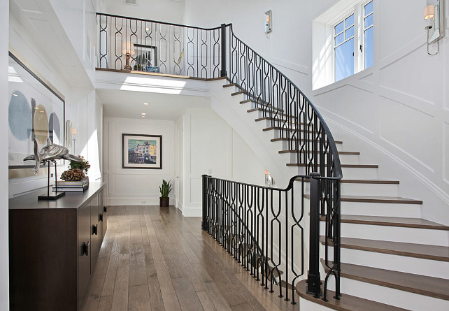Iron Railing Staircase. Staircase with iron railing. Iron Railing Staircase Ideas. #Iron RailingStaircase Spinnaker Development.