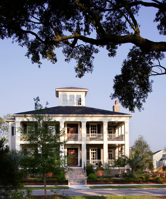 Classic Southern Homes. #Southern #Homes