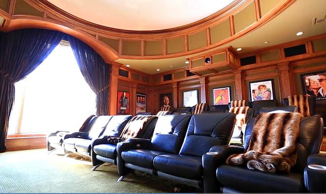Jennifer Lopez Home theater. Jennifer Lopez House #JenniferLopezHouse