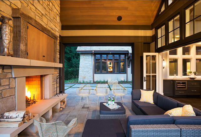 John Kraemer & Sons. Patio Design Ideas.