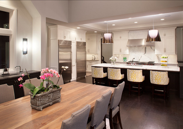 Transitional Kitchen Design. John Kraemer U0026 Sons.