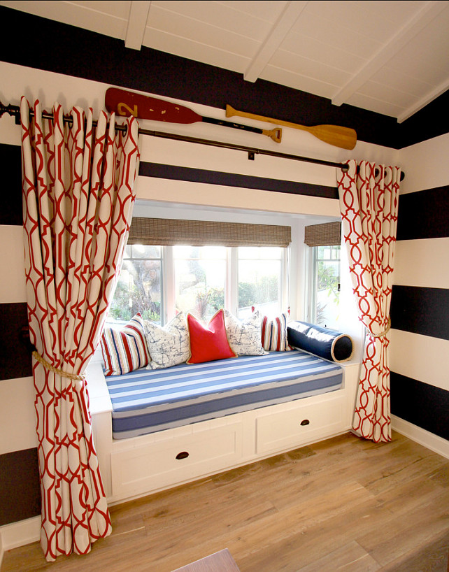 Kids Bedroom Ideas. Coastal Kids Bedroom. #CoastalBedroom #KidsBedroom #KidsBedroomDecor Nagwa Seif Interior Design.