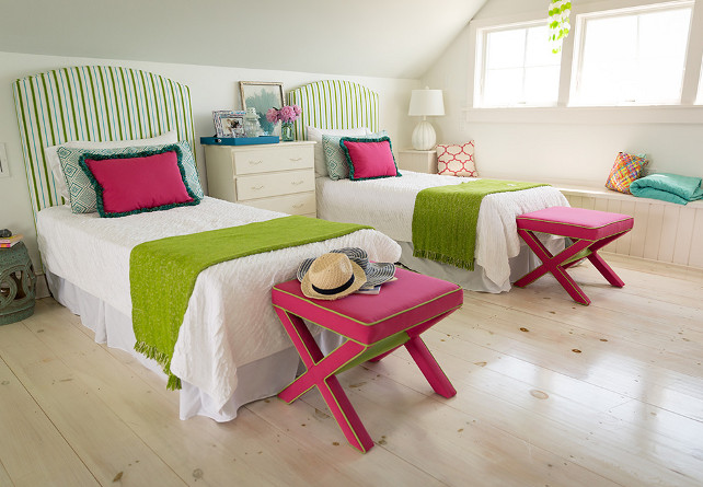 Kids Bedroom Ideas. Kids Bedroom Decor. Shared kids bedroom. #KidsBedroom Kate Jackson Design.