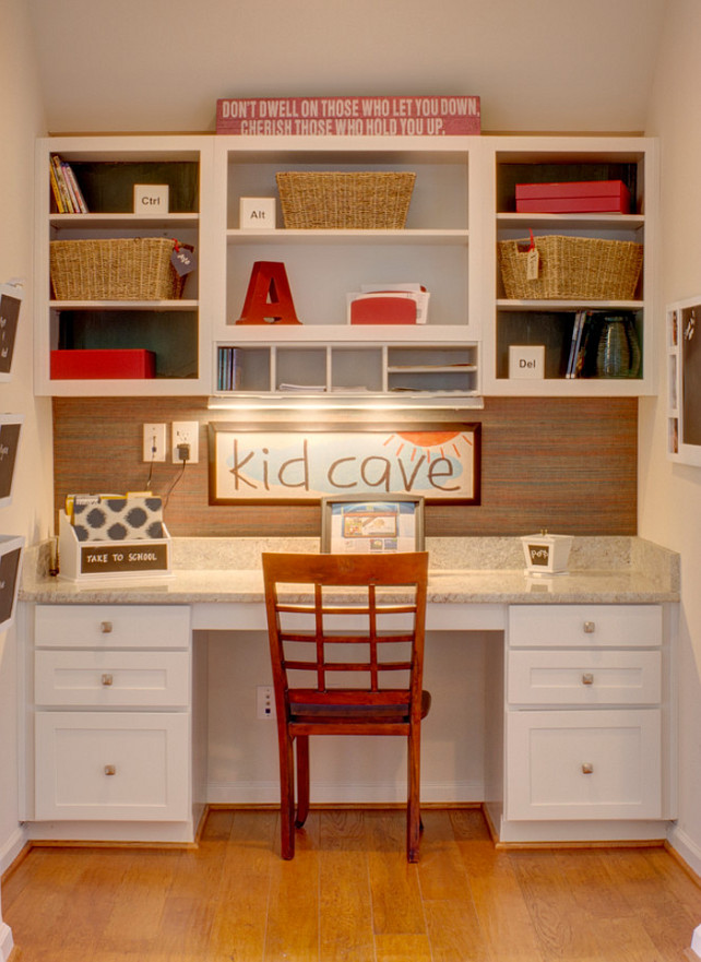 Kids Desk. Kids Desk Layout. Kids Desk Design. Built-in Kids Desk. Kids Desk. #KidsDesk