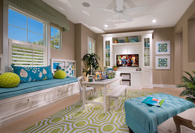 Kids Playroom. Kids Playroom Ideas. Kids Playroom Layout. Kids Playroom Media Cabinet. Kids Playroom Built-in. Kids Playroom Layout. #KidsPlayroom Brookfield Residential Northern California.
