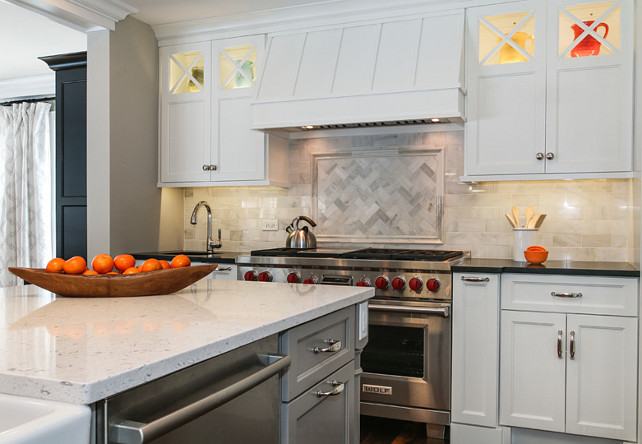 Kitchen Backsplash Tile. Kitchen Backsplash Tile Ideas. The Kitchen Backsplash Tile is Hampton Carrara Subway Tile. #BacksplashTile #Kitchen #HamptonCarraraSubwayTile Redstart Construction.
