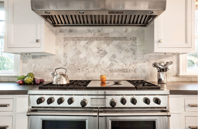Kitchen Backsplash. Kitchen Marble Backsplash. Kitchen Backsplash Ideas. SOHO Studio Backsplash Mosaic Asian Santuary Mosaic. #Kitchen #Backsplash
