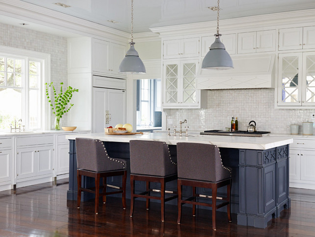 Kitchen Benjamin Moore White Diamond 2121 60