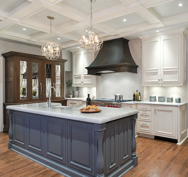 Kitchen Cabinet Paint Color Ideas. Kitchen Cabinet Design Ideas. Gray  Kitchen Island Paint Color