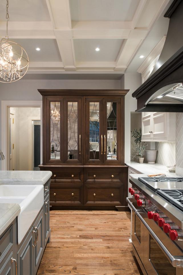 Kitchen Cabinet. Custom Kitchen Cabinet. Kitchen cabinet holds fridge and freezer. #Kitchen #KitchenCabinet #KitchenCustomCabinet #KitchenCabinetDesign #KitchenCabinetIdeas
