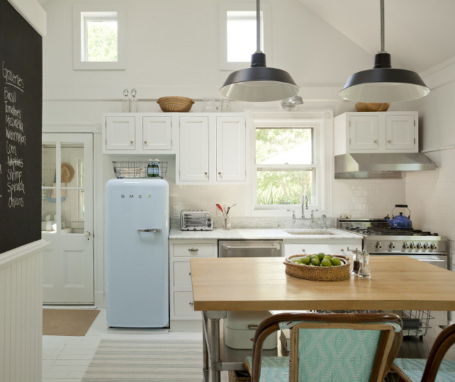 Cottage Kitchen Countertops: Renovated Hamptons Shingle Cottage