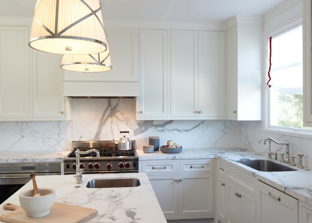 Kitchen Countertop Backsplash. Kitchen Marble Countertop Backsplash.  Kitchen Marble Countertop Backsplash Slab. #KitchenMarbleCountertopBacksplash Lauren Ranes Interior Design.
