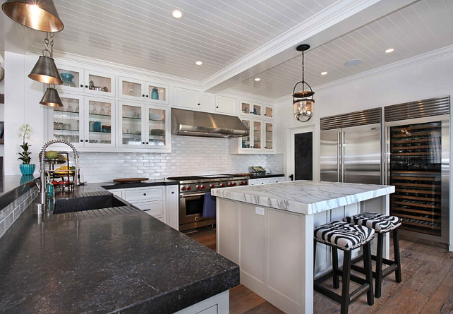 Kitchen Countertop Combo Kitchen. Countertop Combination. Kitchen Perimeter Countertop. Kitchen Island Countertop. #KitchenCountertop #KitchenPerimeterCountertop #KItchenIslandCountertop Blackband Design