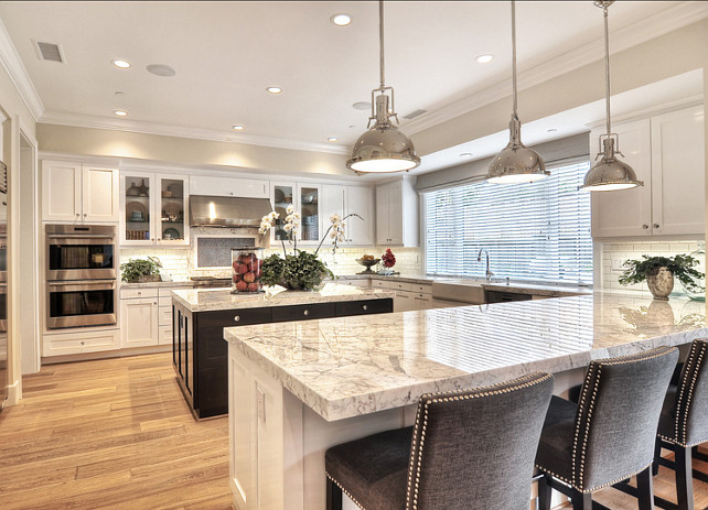 Kitchen Design Ideas. Kitchen Ideas. High End, Stainless Steel Appliances  Coordinate With The