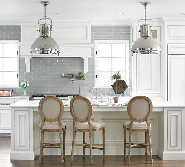 Kitchen Design Ideas. White Kitchen Design. Timeless White Kitchen.  #Kitchen #WhiteKitchen  Emily Jenkins Followill Photography.