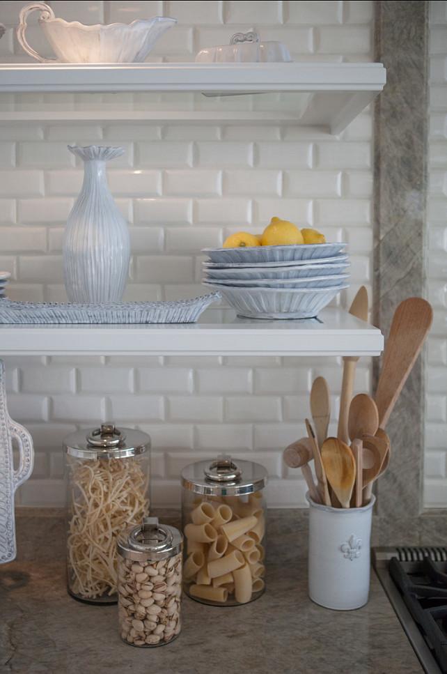 Kitchen Design. Open Shelves Kitchen Ideas.