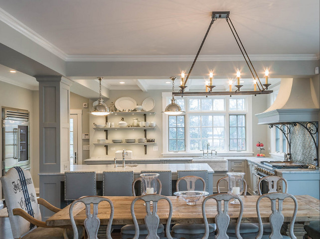 Kitchen Dining Room. Open Kitchen To Dining Room. Open Kitchen To Dining  Room Ideas