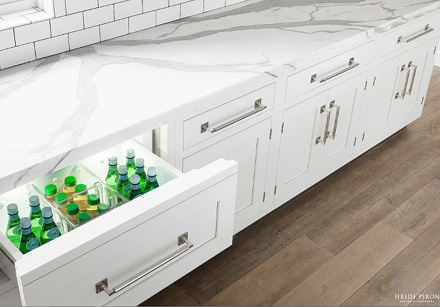 Kitchen Drawer Refrigerator. Kitchen Drawer Refrigerator Ideas. Kitchen Drawer Refrigerator Cabinet Layout. #Kitchen #DrawerRefrigerator Heidi Piron Design.