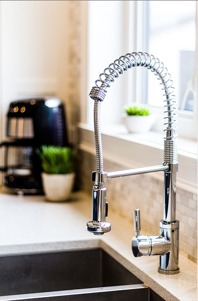 modern kitchen faucets options design kitchen decoration ideas family home with stylish transitional interiors home bunch - Kitchen Faucet Ideas