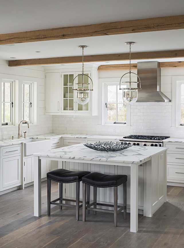 Coastal Pendant Lighting Kitchen