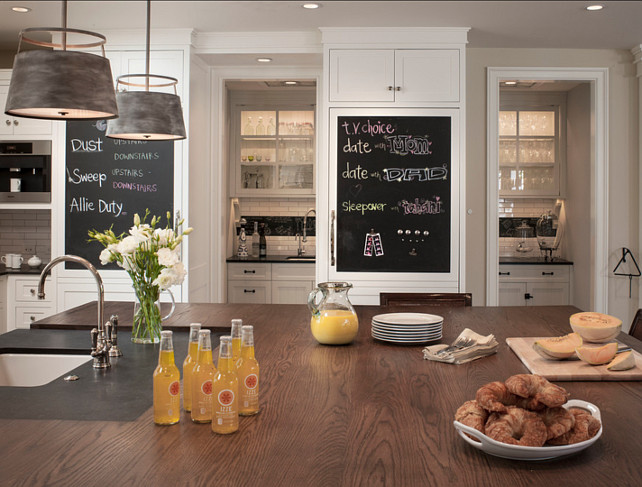 creative chalkboard ideas for kitchen decor - Kitchen Chalkboard Ideas