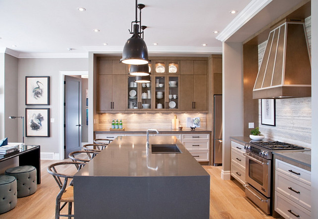 Kitchen Island Countertop Ideas #KitchenIslandCountertop #KitchenIslandCountertopIdeas