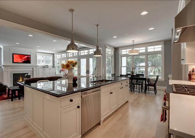 Kitchen Island Design. Beautiful Kitchen island design with lots of storage. #Kitchen #Island #Storage