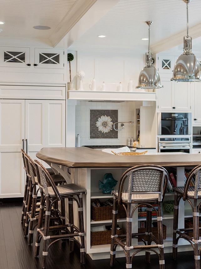 Kitchen Island Shelves. Kitchen Island Bookshelf. Kitchen Island Bookshelf Ideas. Kitchen Island Bookshelf Design. #KitchenIsland #Bookshelf  Brookes and Hill Custom Builders.