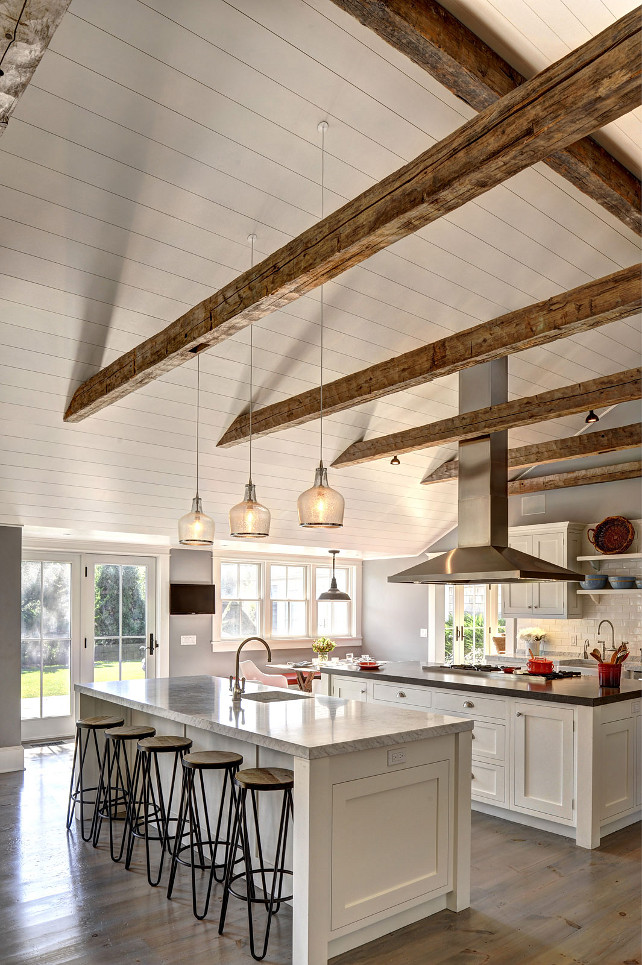 Ranch Cottage with Transitional Coastal Interiors - Home Bunch ...
