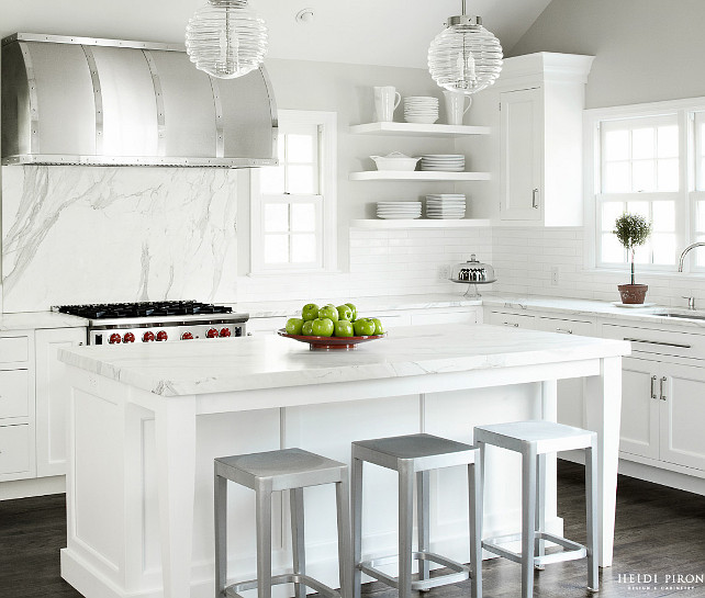 Kitchen Lighting Ideas. Kitchen Island Lighting. Kitchen island Lighting Ideas. #Kitchen #KitchenLighting #KitchenIsland #kitchenIslandLighting #lighting Similar Wall Paint Color: Revere Pewter HC-172 by Benjamin Moore. Similar Cabinet Paint Color: Decorators White cc-20 Benjamin Moore.