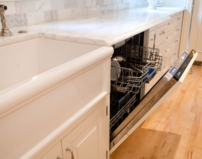 Kitchen Paneled Dishwasher Ideas. #Kitchen #PaneledDishwasher #DishwasherIdeas Kitchen Design Concepts