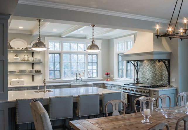 Kitchen Pendants. Kitchen Island Pendant Lighting. Pendants are the Orson Pendants by Remains Lighting. #Kitchen #Pendant #KitchenLighting #OrsonPendants #RemainsLighting Past Basket Design.