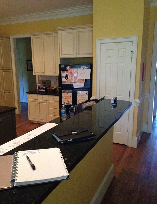 Kitchen Reno Before and After Photos #KitchenReno #BeforeandAfterPhotos #BeforeandAfterPhotosKitchen