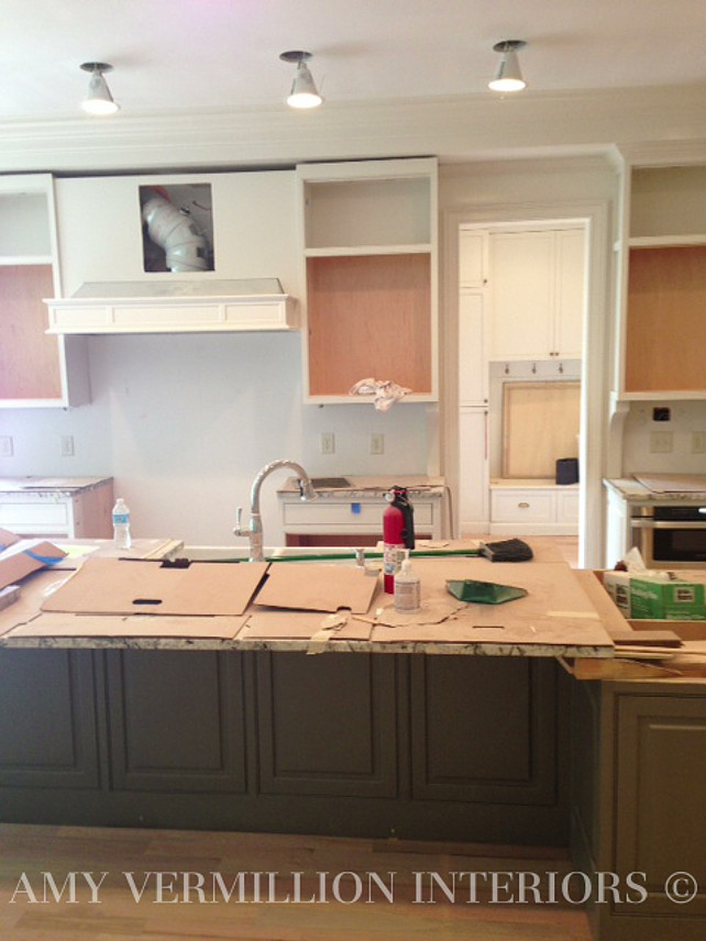 Kitchen Reno Ideas. Kitchen Cabinet Reno. Painting Kitchen Cabinets.  #KitchenReno Amy Vermillion
