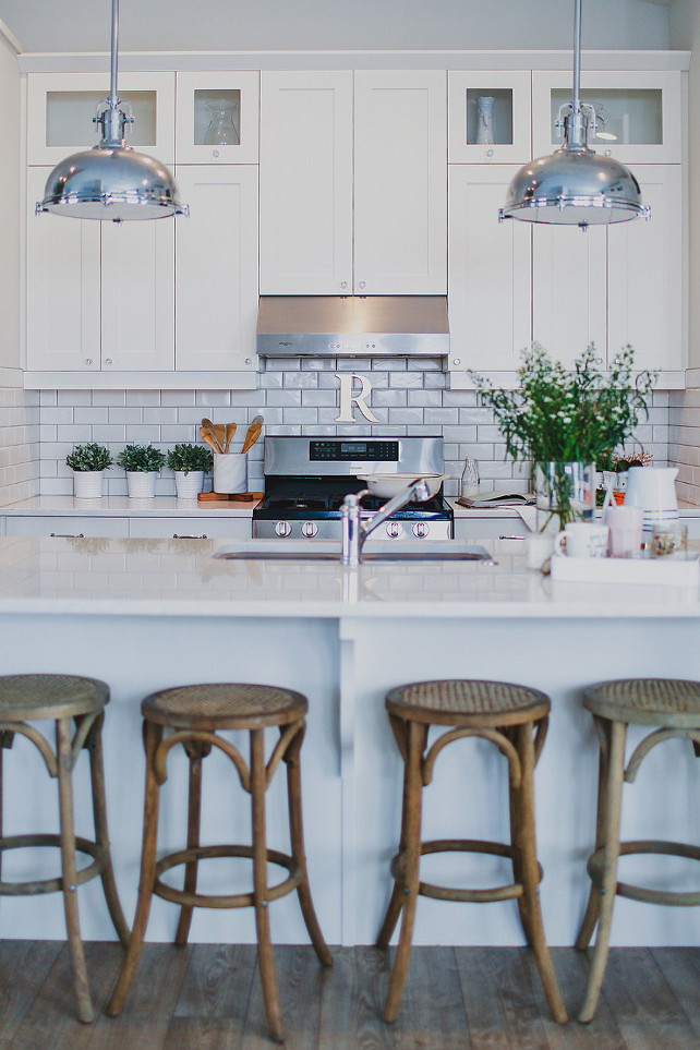 Kitchen Reno. Affordable Kitchen Reno Ideas. Lighting Kitchen Bar Stool Backsplash Kitchen Cabinets White Kitchen Island Pendant Light.  Brittany Robertson.