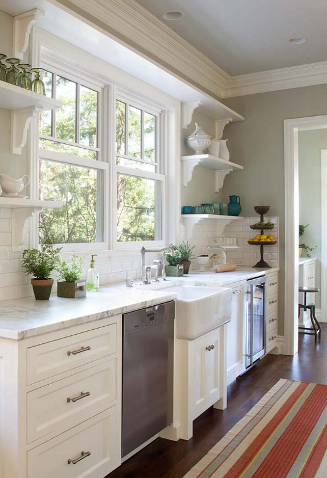 Kitchen Stuff Plus On Pinterest Open Shelves White